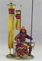 FS-2 Samurai Seated on Tiger Skin Momoyama Period